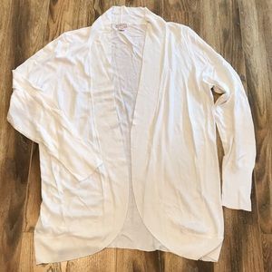 NWOT Merona White Cardigan Sweater XXL